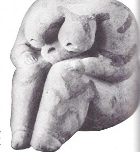 """Seated Goddess"""