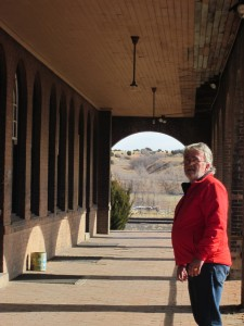 """Marc B. at the Las Vegas, NM Depot"""