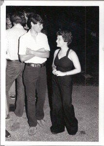 """Pete and Paula, Street Dance at Morgan-Graves Circle, June 30, 1978"