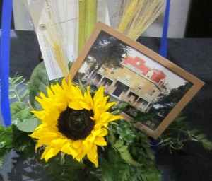 """sunflower"" and ""Z-Bar Ranch Headquarters"""