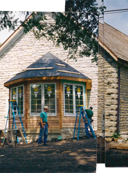 Apse solarium of the Cottonwood Falls project